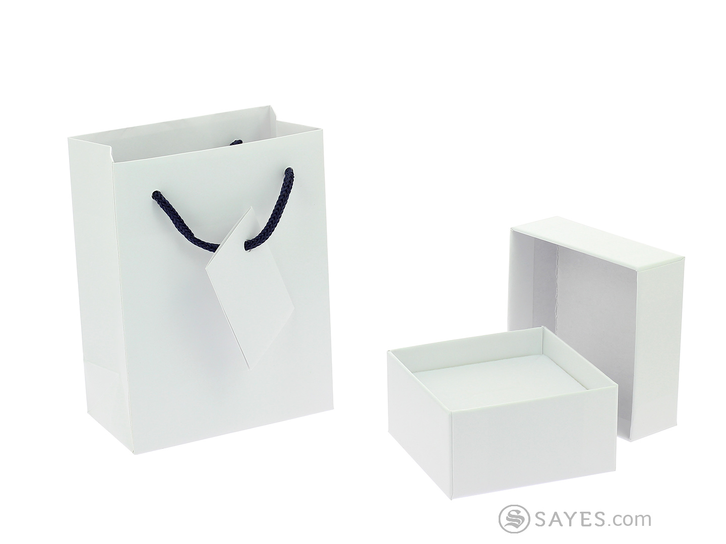 WHITE VERSIONS STANDARD BOX WITH SHOP BAG